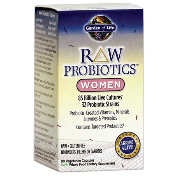 Garden of Life Raw Probiotics for Women Free Shipping