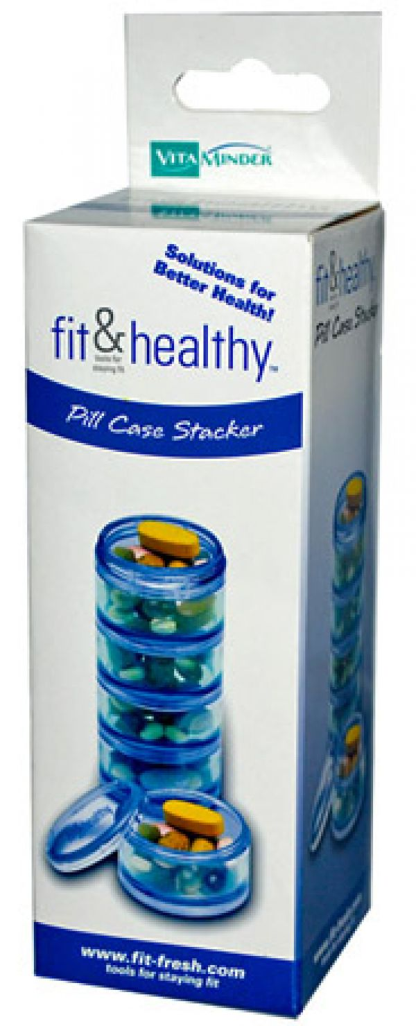 Vitaminder Pill Case Stack
