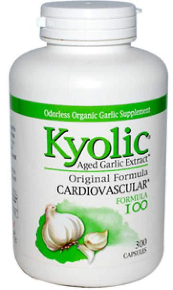 Wakunaga Kyolic Formula 100 Cardiovascular Formula (Yeast Free) 100 Caps